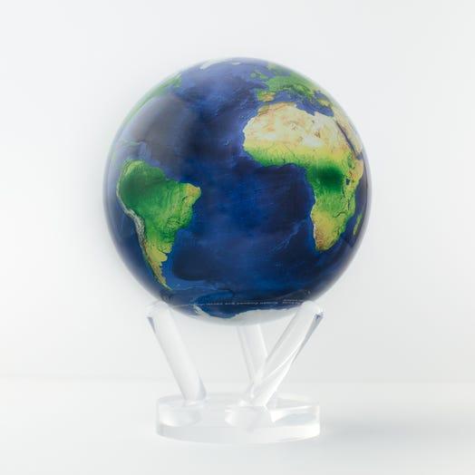 "Earth MOVA Globe 6"" with Acrylic Base"
